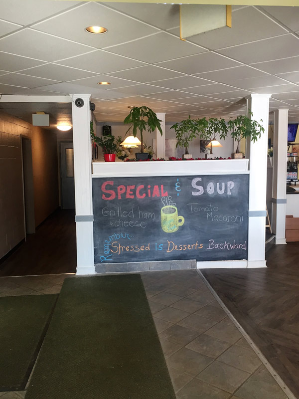 Hotel Soup and Specials
